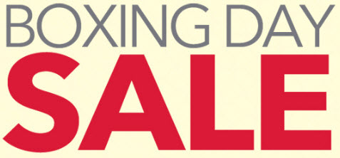Boxing Day Canada Sales & Deals 2020